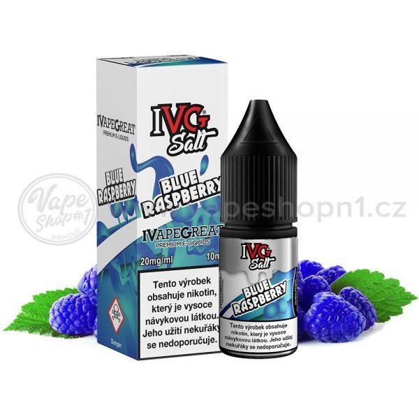IVG Salt - Modrá malina