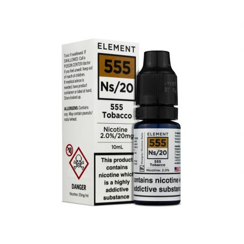 Element salt - 555 Tobacco