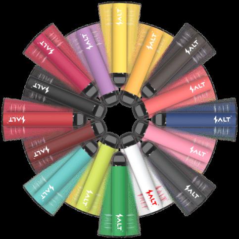 HQD Salt SWITCH - jednorázová e-cigareta