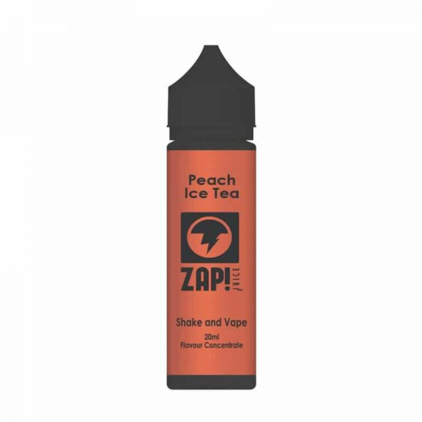 ZAP Juice Peach Ice Tea