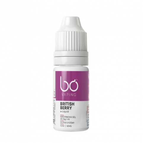 BO Vaping - BRITISH BERRY Salt 20mg