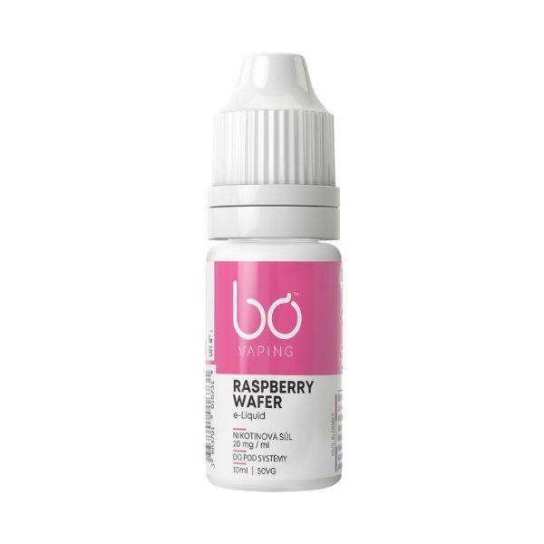 BO Vaping - Raspberry Wafer Salt 20mg
