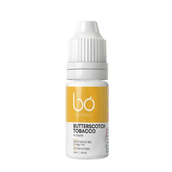 BO Vaping - Butterscotch Tobacco Salt 20mg
