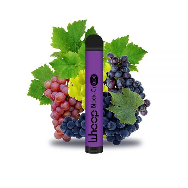 Whoop Black Grape jednorázová e-cigareta