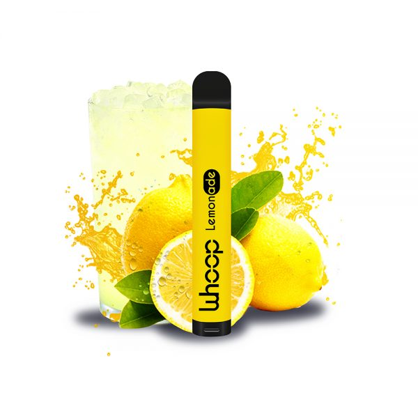 Whoop Lemonade jednorázová e-cigareta