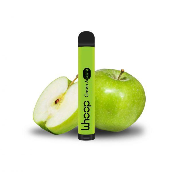 Whoop Green Apple jednorázová e-cigareta